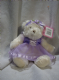 Cotton Candy plush 9inch white teddy bridsmaid/dancer lilac.